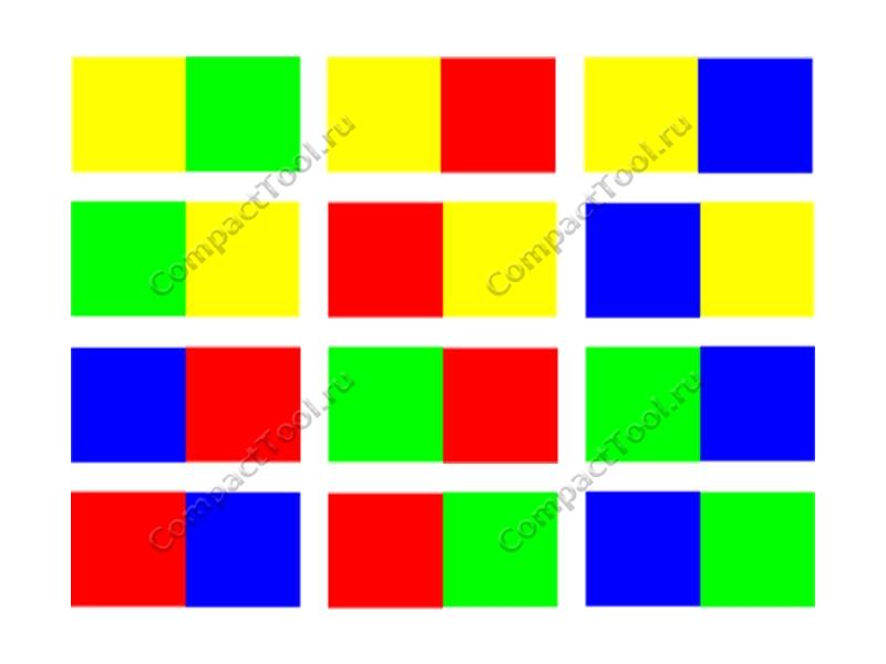 Цветовые коды Pixy, Цветовые коды Pixy2