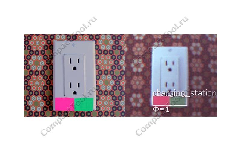 Pixy цветовые коды, пример определения