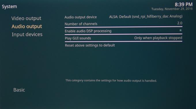 Настройка X900 на OSMC. Шаг 6