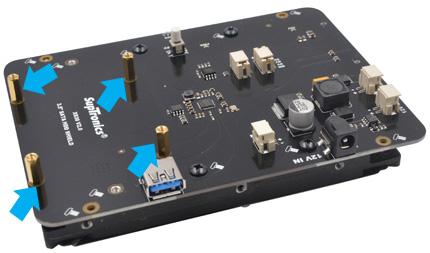 Инструкция по сборке SupTronics X830 V2.0. Шаг 1
