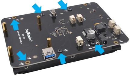 Инструкция по сборке SupTronics X830 V2.0. Шаг 2