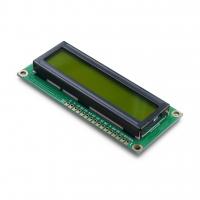 Дисплей символьный LCD1602 с желтой подсветкой