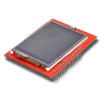TFT дисплей 2,4 с сенсором красный