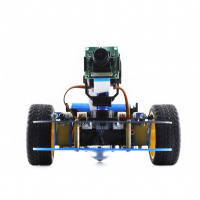 3 колесная платформа для робототехники AlphaBot для Rpi3