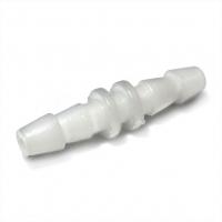 Переходник пластиковый прямой на трубку с конусами 3,5/5 мм на 3,5/5мм