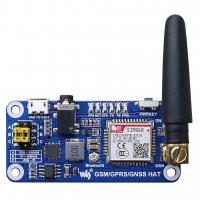 Модуль расширения GSM/GPRS/GNSS/Bluetooth HAT для Raspberry Pi