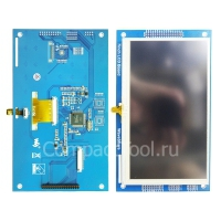 Цветной графический                                LCD дисплей  7