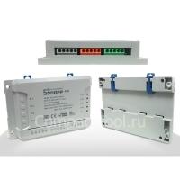 WiFi переключатель 4х канальный Sonoff 4CH R2