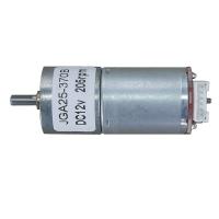 Мотор с редуктором и энкодером JGA25-370B 12В соотношение 1:34 205 об/мин