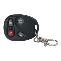 Пульт-брелок черный 4 кнопки ABCD