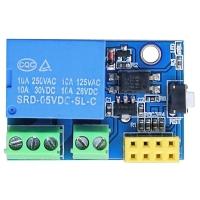 """Модуль одноканального реле """"ESP8266 умная розетка"""" для WiFi-контроллера ESP-01/01S ESP8266"""