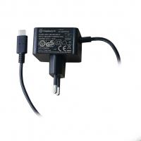 Оригинальный блок питания 15.3Вт USB-C для Raspberry Pi 4 черного цвета