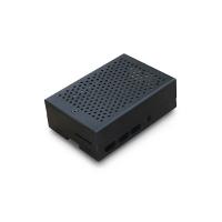 Алюминиевый корпус для Raspberry Pi4 с вентилятором, черный