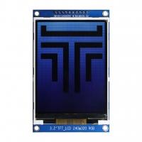 TFT дисплей 3.2 ILI9341 SPI с шрифтами