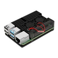 Радиатор для Raspberry Pi 4 алюминиевый с кулером