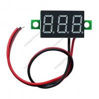 Вольтметр HW-805C 3.5-30V синий индикатор