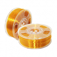 Geek Filament PETG. Amber Transparent / Янтарный / 1.75 мм