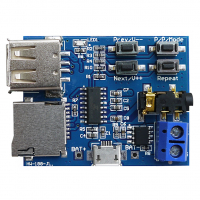 Модуль MP3 декодера с аудиоусилителем 3Вт и кнопочным управлением HW-188-JL