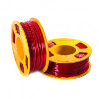 Geek Filament PETG. Ruby Transparent / Красный / 1.75 мм