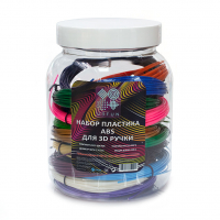 Набор пластика для 3D-ручек U3FUN ABS, 15 цветов