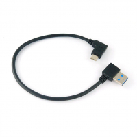 USB 3.1 (A 90 Flag) to Type-C (90 Flag)