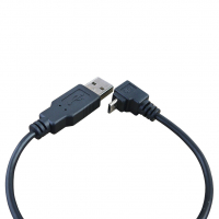 Переходник USB 2.0 (AM) to microUSB (90 Duck)
