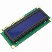 Дисплей символьный 16х2 с синей подсветкой