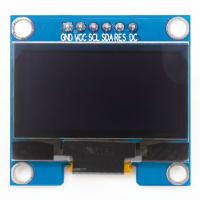 OLED 1,3  SPI синие пиксели