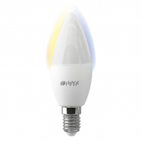 Умная LED лампочка Wi-Fi HIPER IoT C1 White