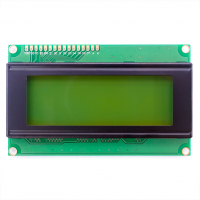 Дисплей символьный 20х4 с зеленой подсветкой