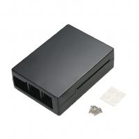 Корпус алюминиевый для Raspberry Pi 4 черный