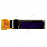 """Монохромный OLED дисплей 0,69"""" I2C 96х16 пикселя"""