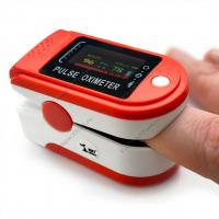 Пульсоксиметр Fingertip Pulse Oximeter красный