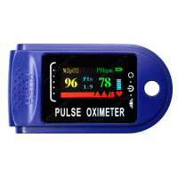 Пульсоксиметр Fingertip Pulse Oximeter синий