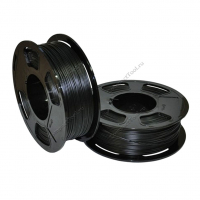 Geek Filament PETG. Black Diamond Transparent / Черный Бриллиант светопропускающий / 1.75 мм