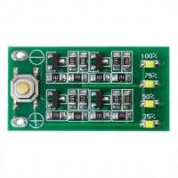 Тестер-индикатор уровня заряда Li-Po Li-Ion батареи 12.6В