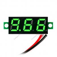 Вольтметр HW-805B 3.5-30V зеленый индикатор