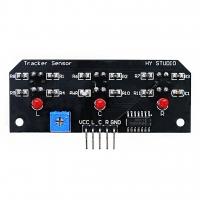 3-х канальный модуль датчика отслеживания линии TCRT5000