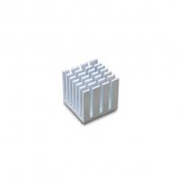 Алюминиевый радиатор с теплопроводящим скотчем 15x15x15 мм