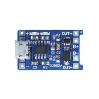 Контроллер заряда Li-ion аккумулятора на TP4056 с разъемом micro USB