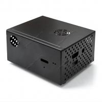 Корпус металлический с охлаждением для Raspberry Pi 2/3 и платы расширения X820