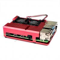 Корпус для Raspberry Pi 4 алюминиевый красный