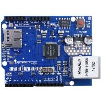 Ethernet W5100 модуль c MicroSD