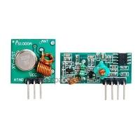 Беспроводной модуль Передатчик + приемник, частота 433Mhz