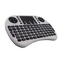 Мини-клавиатура беспроводная Rii mini i8 белая