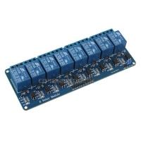 Модуль реле на 8 канала с опторазвязкой, 5 В