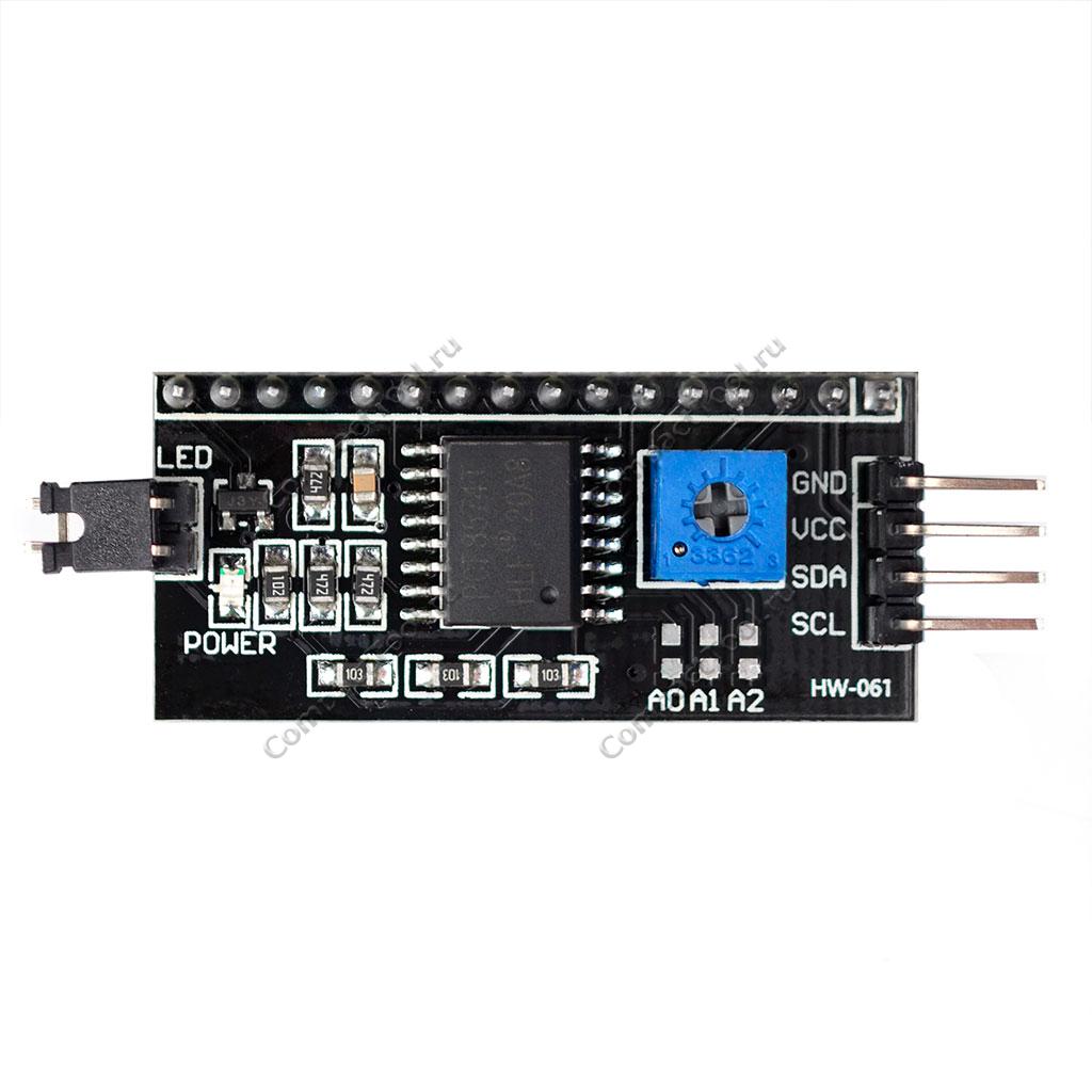 Модуль для дисплеев 5V IIC/I2C