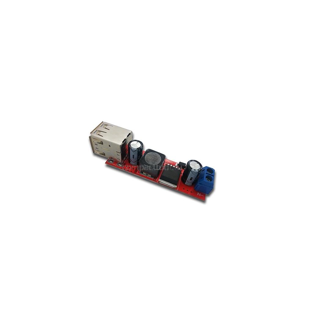 DC-DC преобразователь на LM2596 3A c двумя USB портами