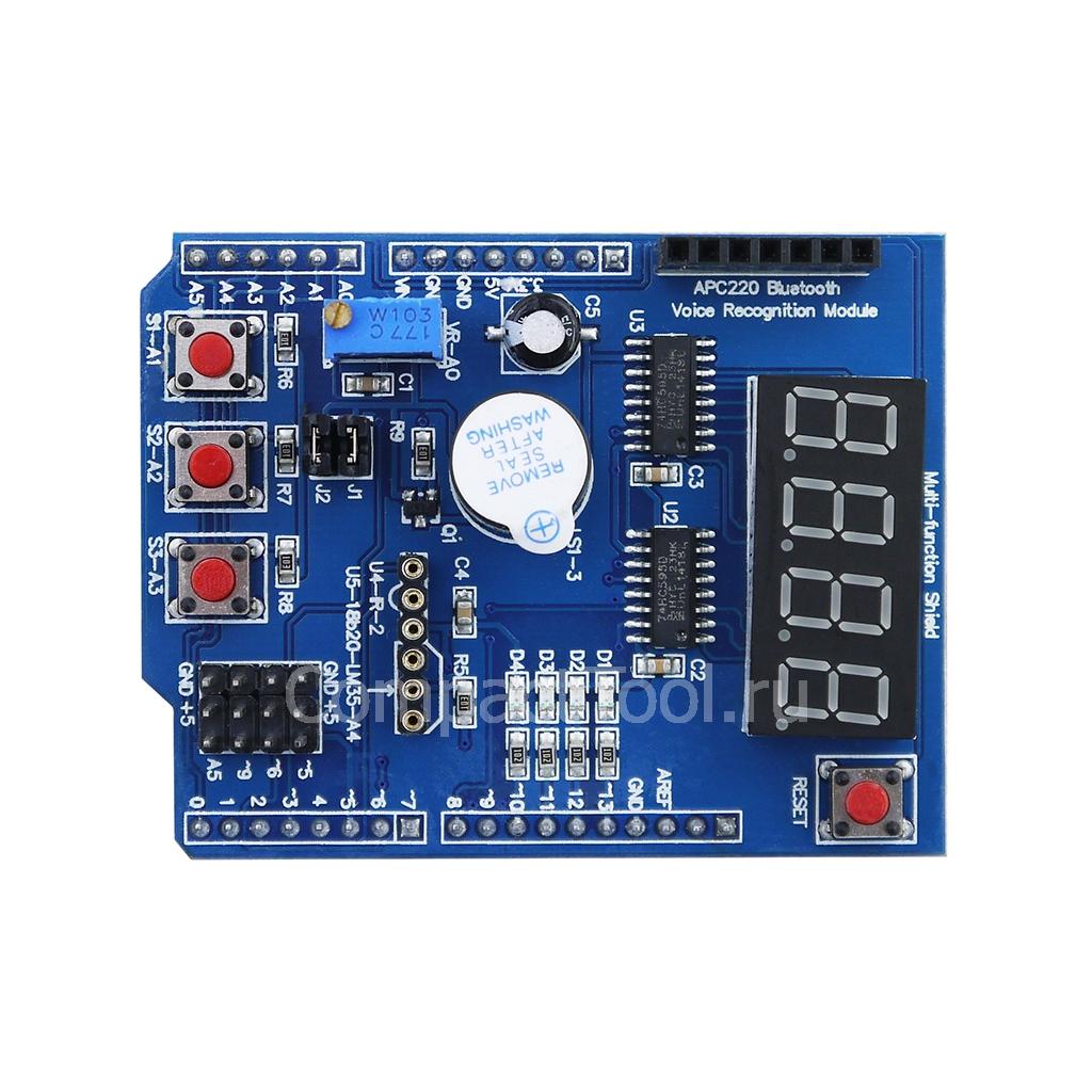 Многофункциональный модуль для Arduino