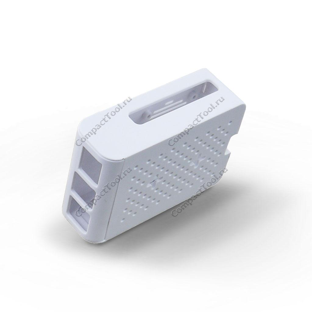 Белый защитный корпус из АБС-пластика для Raspberry Pi 4